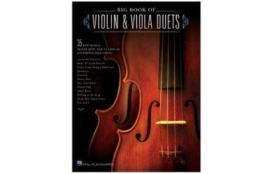 HL119113  Big book of violin + viola duets