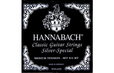 Hannabach 815MT Mittel schwarz Silver Special