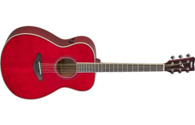 Yamaha FS-TA-RR Transacoustic Ruby Red