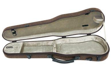 Gewa 300111 Violinkoffer 4/4 tropfenform Bio S Braun