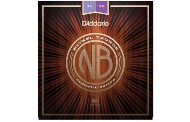 DAddario NB1152 Nickel Bronze Custom Light 011-052
