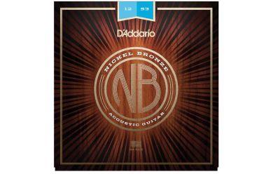 DAddario NB1253 Nickel Bronze Light 012-053