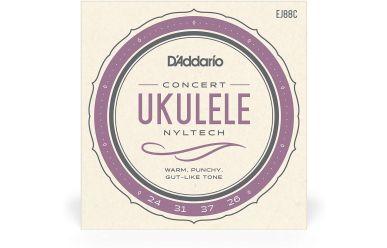 DAddario EJ88C Ukulele Concert Natural Nylon