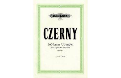 EP2405  C.Czerny  160 kurze Übungen op.821
