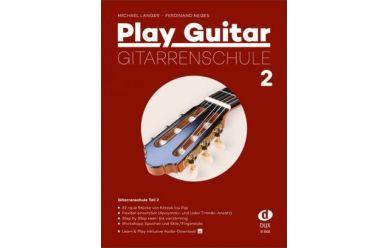 D3502 M.Langer/F.Neges  Play Guitar Gitarrenschule 2