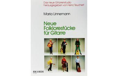 SY2527 Maria Linnemann  Neue Folklorestücke für Gitarre
