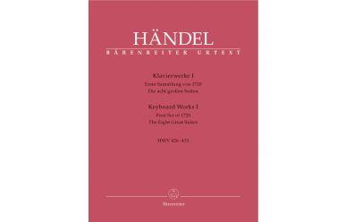 BA4224  G.F.Händel  Klavierwerke Band1  HWV426-433