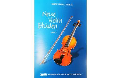 HAL550 Robert Pracht   Neue Violin Etüden  Heft1