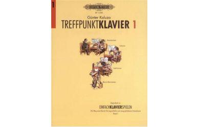 Divers G.Kaluza Treffpunkt Klavier  Band 1  Begleitheft zur Schule