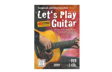 Espinosa, Let´s Play Guitar +2CDs +DVD
