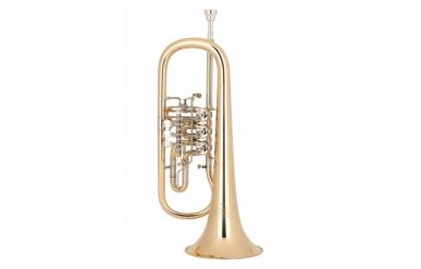Miraphone 24R Goldmessing, Trigger am 3. Ventil, lackiert
