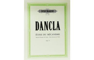 EP1080  Dancla  Ecole du mecanisme Opus 74