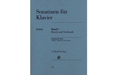 Sonatinen für Klavier 1  Barock und Vorklassik