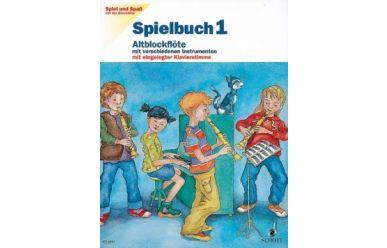 Heyens/Engel  Spiel und Spaß mit der Blockflöte  Spielbuch 1