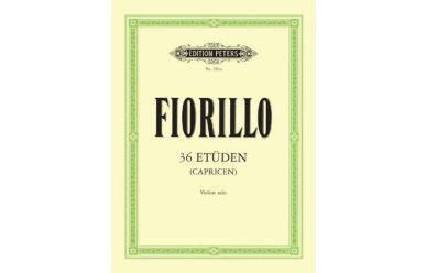 EP283A  Fiorillo  36 Etüden (Capicen) für Violine solo
