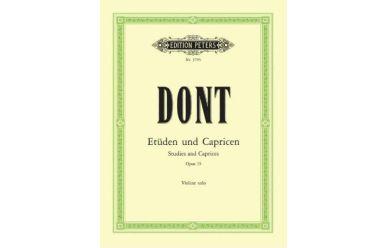 EP3705  Dont  24 Etüden und Capricen Opus 35