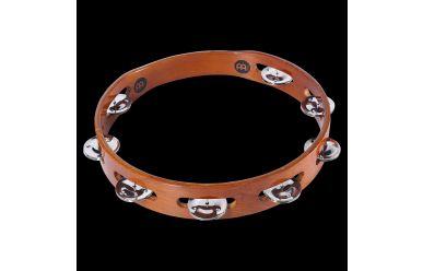 Meinl TA1AB Wood Tambourin, einreihig Stahlschellen