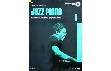 T. Richards  Jazz Piano 1  Harmonik, Technik & Improvisation