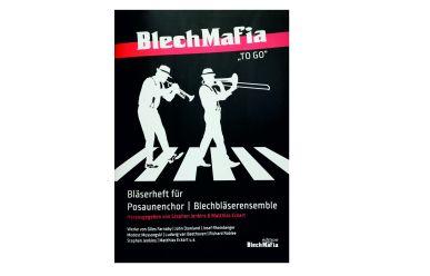"""BM1 S.Jenkins/M.Eckart  Blechmafia """"To Go""""  Bläserheft"""