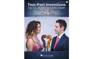 HL00361600 Mr. and Mrs. Cello: Two Part Inventions by J.S.Bach