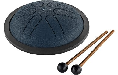 Meinl MSTD2NB Sonic Energy Mini Steel Tongue Drum, Blue