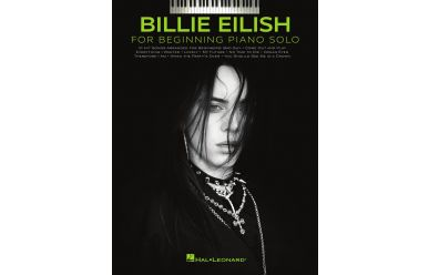 HL362598  Billie Eilish  for Beginning Piano Solos