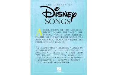 The Library of Disney Songs   A Collection of the greatest...