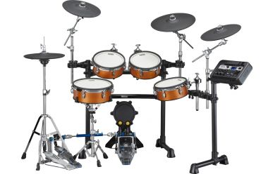 Yamaha DTX8K-X E-Drum Kit Real Wood