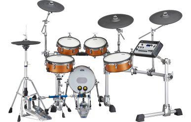 Yamaha DTX10K-X E-Drum Kit Real Wood