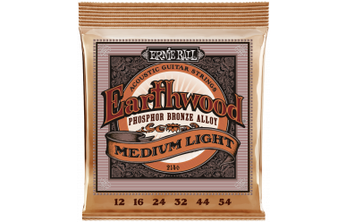 Ernie Ball 2146 Earthwood Medium Light Phosphor Bronze