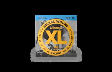DAddario EXL110+ Nickel Wound Regular Light Plus 0105-048 Satz