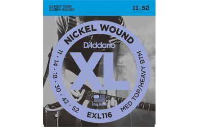 DAddario EXL116 Nickel Wound Medium Top Heavy Bottom 011-052