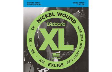 DAddario EXL165 Nickel Wound Bass Custom Light 045-105 Long Scale