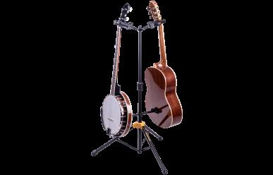 Hercules GS-422B+ Gitarrenständer, AGS Plus, für 2 Instrumente