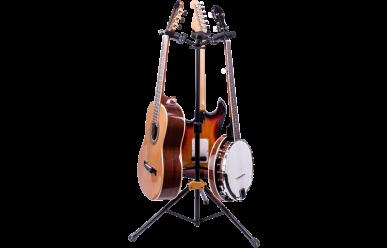 Hercules GS-432B+ Gitarrenständer, AGS Plus, für 3 Instrumente