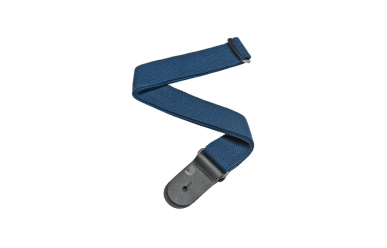 DAddario Planet Waves 50CT03 Gitarrengurt 50mm Cotton Blue