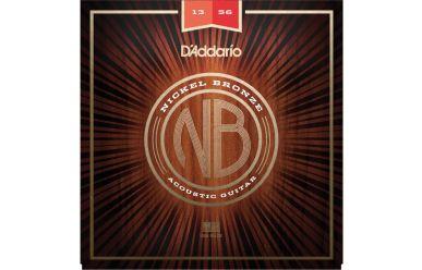 DAddario NB1356 Nickel Bronze Medium 013-056