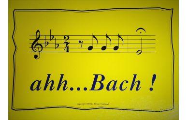 Kübler Postkarte      Aah Bach