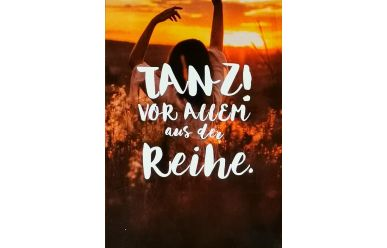 "Kübler 2053KAMO  Postkarte ""Tanz!"""