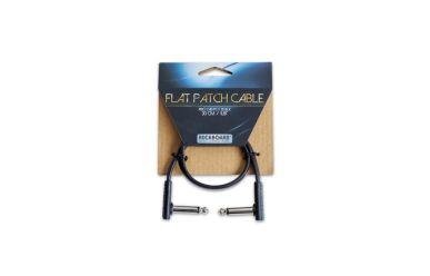 RockBoard Flat Patch Cable, Black, 30 cm