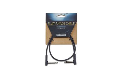 RockBoard Flat Patch Cable, Black, 45 cm
