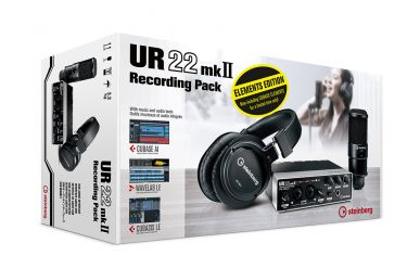 Steinberg UR22 MK2 Recording Pack Elements Edition (incl. Cubase Elements)