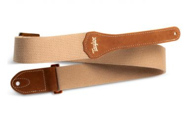 Taylor GS Mini Strap, Tan, Cotton, 2""