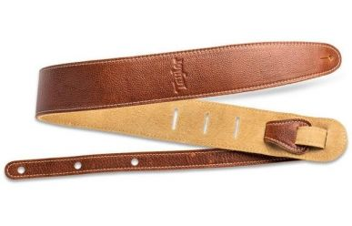 Taylor Strap, Medium Brown Leather, Suede Back, 2.5""